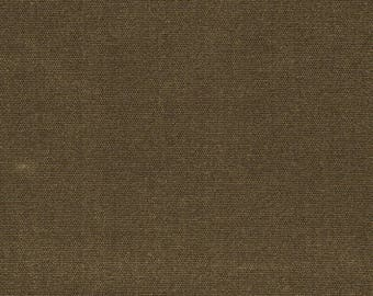 BURNT SIENNA - med weight waxed canvas | swatch