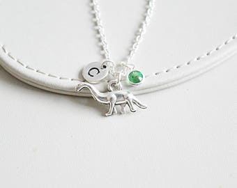 Dinosaur Necklace, Dinosaur Gift, Dinosaur charm, Dino Necklace, Dinosaur Pendant,Dinosaur jewellery, Dino Jewelry,Birthday gift, cousins