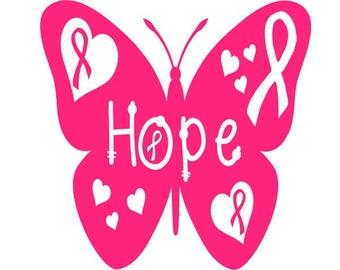 Digi-tizers Cancer Awareness Butterfly (SVG Studio V3 JPG)