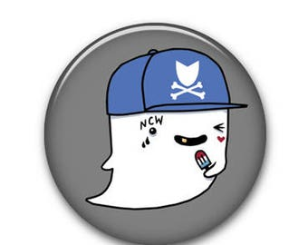 "Ghostie 1.25"" Button"