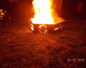 Military Themed Fire Ring / Pit