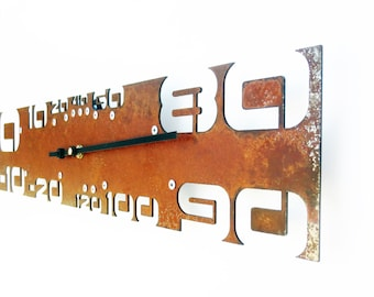 Outnumbered, Rustic Thermometer, Fahrenheit, Outdoor Metal Art, Indoor, Wall, Scale, Garden, Patio, Kitchen, Room, Analog, Industrial, Retro