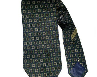 Authentic Chanel Men Necktie Tie Silk Italy
