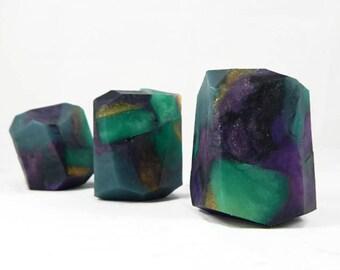 Fluorite Style Rock Soap Bar