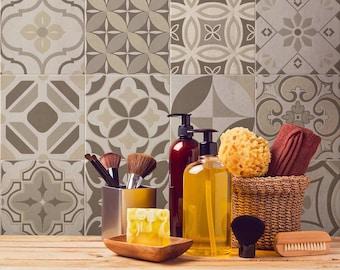 Adesivi decorativi per piastrelle affordable adesivi cucina leroy