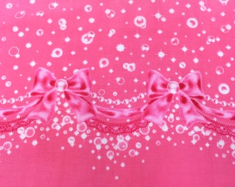 """Bubble Charm PINK 100% Cotton Broadcloth ~ 42"""" Wide ~ Sold by the Yard"""