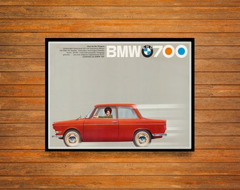 Reprint of a Vintage 1959 German Vehicle Makers Poster