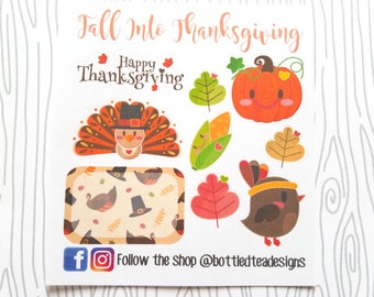 Fall Into Thanksgiving // Monthly Freebie // Item #FB011
