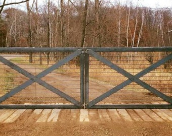cantiliever roller driveway gate