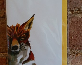 Fitz Fox Note Card