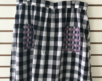Womens Large skirt with pockets