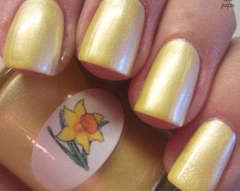Pastel Daffodil Nail Polish