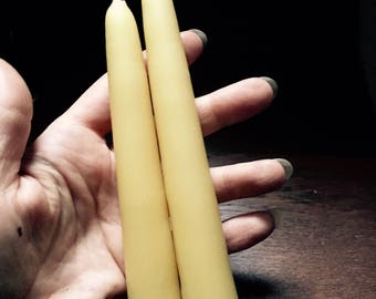 Taper Candle // 100% Pure Beeswax
