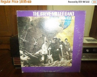 Vintage 1973 Vinyl LP Record Living in the USA The Steve Miller Band Excellent Condition 6163