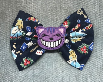Cheshire Cat - Alice In Wonderland Hairbow