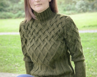 Handknitted Women's Wool Sweater