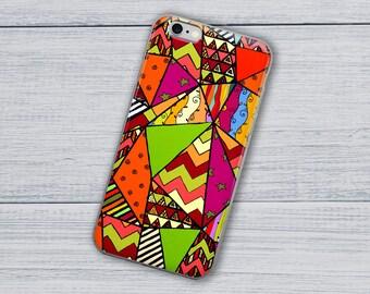 African Case, iPhone Case, Geometric Case, Abstract Case,iPhone 8 Case, iPhone 8 Plus Case, iPhone X Case, iPhone 7 Plus Case, iPhone 6 Case