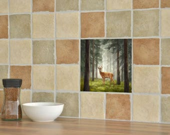 Roe Deer Ceramic Tile
