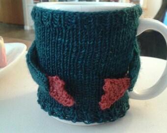 Mug Hug Knitting Pattern