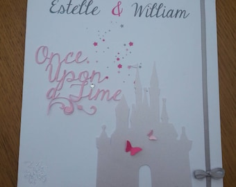 """""""romantic and magical"""" wedding announcements"""
