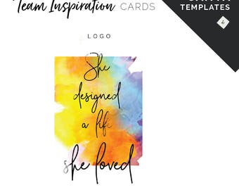 Canva Templates for Team Inspiration - Card Set