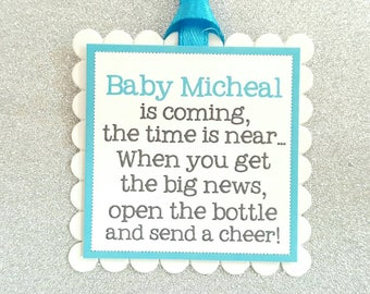 Baby Shower tags boy / baby shower tags for boy / baby shower favor tags