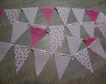 Bunting paper - Little Star Theme