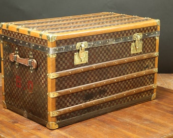 Moynat Steamer trunk  1917