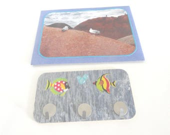 Key holder + envelope gift + card photo to choose