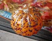 Red Spots on Orange, Blow...
