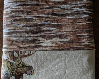 Cotton Moose Pillowcase