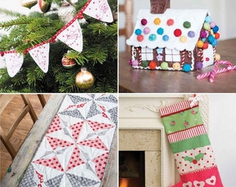 Christmas Sewing Pattern Bundle (860048)