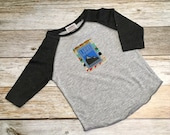 "Toddler Boy ""I Love Big Dumps"" Baseball T-shi..."