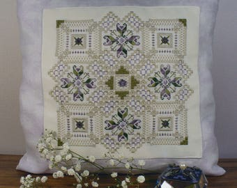 Love and romance hardanger sampler