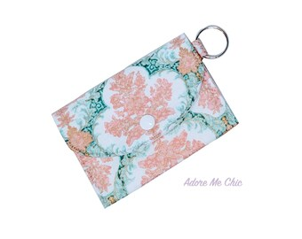 Mini Wallet On The Go Floral Cotton Print