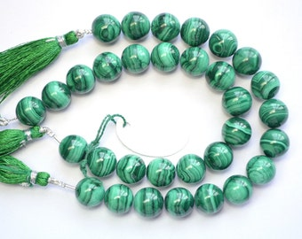 30% Dis Beautiful 8 Inch Strand 12mm Natural Untreated Malachite Round Beads Strand/Malachite Beads/(0231)
