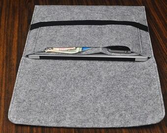 Felt laptop bag, HP  Laptop case, laptop cover case, 11 inch laptop Sleeve, Felt 12 inch laptop Sleeve,13 inch laptop Bag.Customize. 3A271