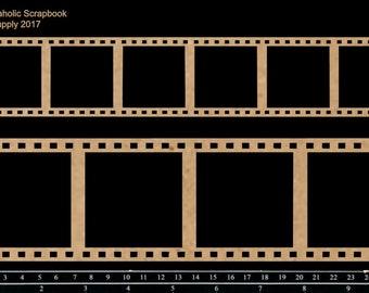 Scrapaholics Chipboard - Filmstrips
