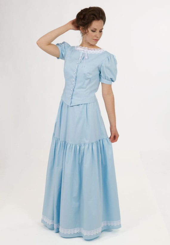1920s Downton Abbey Dresses Edwardian Corset Cover and Petticoat $150.00 AT vintagedancer.com