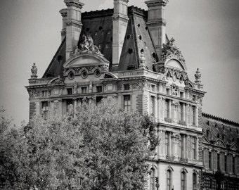 Louvre, River Seine, Paris 2014.