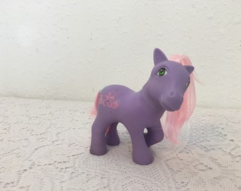 ROMPER, Happy Tails Pony, My Little Pony, vintage G1 My Little Pony, Friendship is Magic