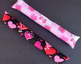 Large Cat Kicker Toys Hearts Red Pink Kitty Kickers Kick Stick Pink Organic Catnip  Toy Gift 10 X 2
