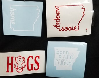 Arkansas Decals