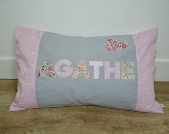 Personalized pillow Agathe