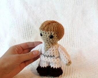 Cute Mini Crocheted Luke Skywalker Star Wars Plush
