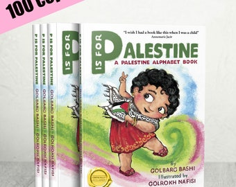 Wholesale 100 copies of Third Edition of 'P is for Palestine' - available to ship in March, 2018