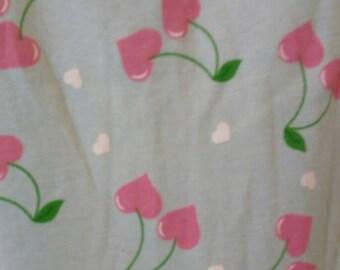 Handmade stretch Jersey cherry print dress