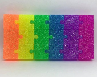 Rainbow Resin Puzzle Toy for Kids