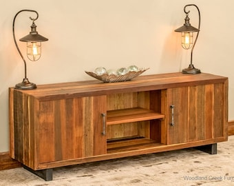 Reclaimed Wood TV Cabinet