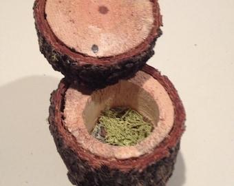 5 Pine Ring Boxes
